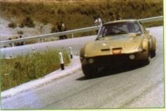 1971 opel 2000gt  calascibetta monti