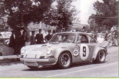 1973 PORSCHE CARRERA RSR  kinnunen  haldi