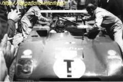1973 ferrari 312  pb. ickx
