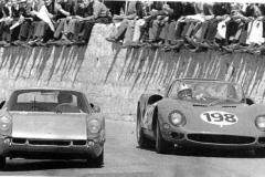 1965 vaccarella supera mitter  su porsche