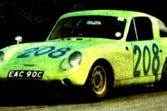 1966 targa florio  clive,Baker,rauno Aaltonen+austin,Healey