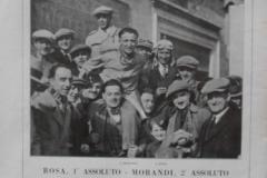1929 OM VETTURA VITTORIE DI MORANDI ROSA GIRO DI SICILIA CORSA AUTO RECORD
